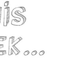 This week …